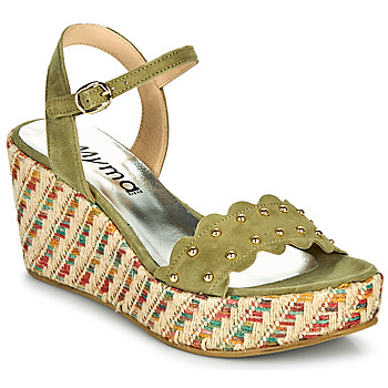 Sapatos Mulher Sandálias Myma POLIDO Cáqui