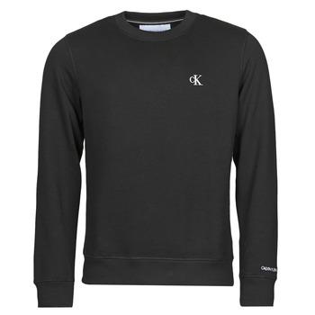 Textil Homem Sweats Calvin Klein Jeans J30J314536-BAE Preto