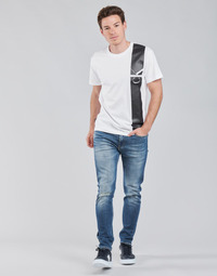 Textil Homem Calças Jeans Calvin Klein Jeans SLIM TAPER Azul