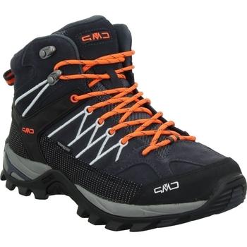 Sapatos Homem Sapatos de caminhada Cmp Rigel Mid Cinzento