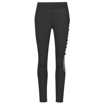 Textil Mulher Collants Puma ESS+ GRAPHIC LEGGING Preto