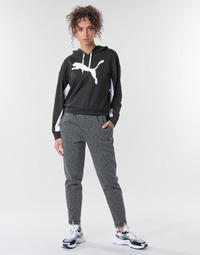 Textil Mulher Calças de treino Puma Evostripe Pants Cinza / Preto