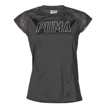 Textil Mulher T-Shirt mangas curtas Puma WMN TRAINING TEE F Preto