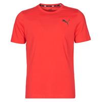 Textil Homem T-Shirt mangas curtas Puma ESS TEE Vermelho