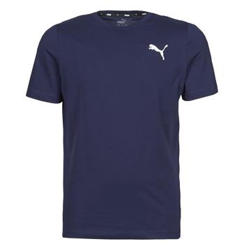 Textil Homem T-Shirt mangas curtas Puma ESS TEE Marinho