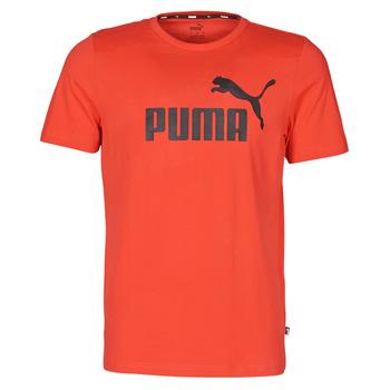Textil Homem T-Shirt mangas curtas Puma ESSENTIAL TEE Vermelho