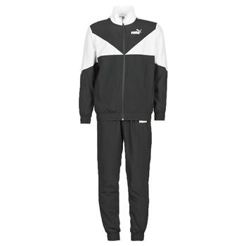 Textil Homem Todos os fatos de treino Puma Woven Suit CL Preto / Branco