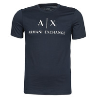 Textil Homem T-Shirt mangas curtas Armani Exchange 8NZTCJ-Z8H4Z Marinho