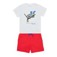 Textil Rapaz Conjunto Polo Ralph Lauren SOULA Multicolor