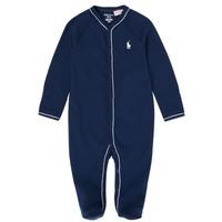 Textil Rapaz Pijamas / Camisas de dormir Polo Ralph Lauren LOLLA Marinho