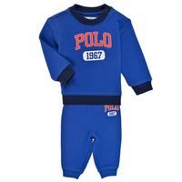 Textil Rapaz Conjunto Polo Ralph Lauren NOELLE Azul