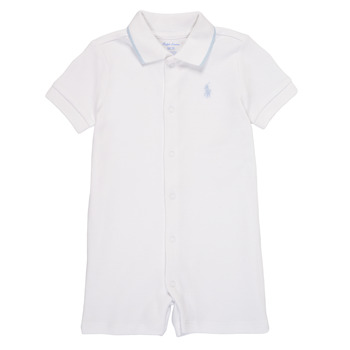 Textil Rapaz Macacões/ Jardineiras Polo Ralph Lauren TONNY Branco