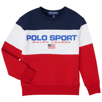 Textil Rapaz Sweats Polo Ralph Lauren TRINITA Multicolor