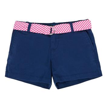 Textil Rapariga Shorts / Bermudas Polo Ralph Lauren FILLI Marinho