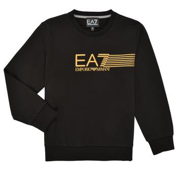 Textil Rapaz Sweats Emporio Armani EA7 3KBM55-BJ05Z-1200 Preto