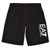 Textil Rapaz Shorts / Bermudas Emporio Armani EA7 3KBS52-BJ05Z-1200 Preto