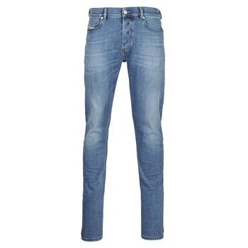 Textil Homem Calças de ganga slim Diesel D-LUSTER Azul / Claro