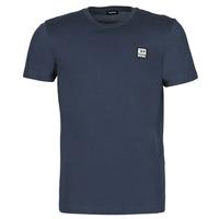 Textil Homem T-Shirt mangas curtas Diesel A00356-0AAXJ-81E Marinho
