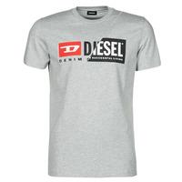 Textil Homem T-Shirt mangas curtas Diesel 00SDP1-0091A-912 Cinza