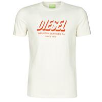 Textil Homem T-Shirt mangas curtas Diesel A01849-0GRAM-129 Branco