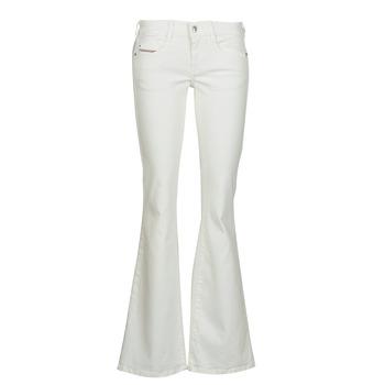 Textil Mulher Calças de ganga bootcut Diesel D-EBBEY Branco