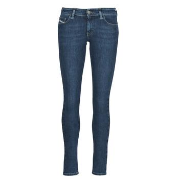 Textil Mulher Gangas Skinny Diesel SLANDY-LOW Azul