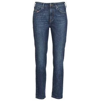 Textil Mulher Calças Jeans Diesel D-JOY Azul