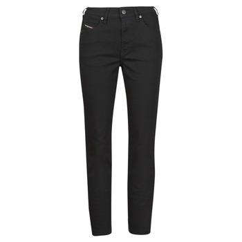 Textil Mulher Calças Jeans Diesel D-JOY Preto