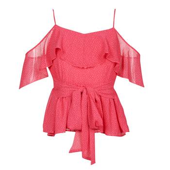 Textil Mulher Tops / Blusas Guess SL PAULINA TOP Rosa