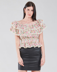 Textil Mulher Tops / Blusas Guess SS NEW ISOTTA TOP Rosa