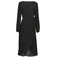 Textil Mulher Vestidos compridos Guess NEW BAJA DRESS Preto
