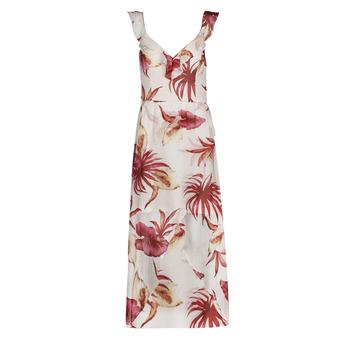 Textil Mulher Vestidos compridos Guess CORA DRESS Multicolor / Branco