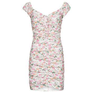 Textil Mulher Vestidos curtos Guess INGRID DRESS Rosa / Claro