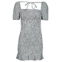 Textil Mulher Vestidos curtos Guess AIDA  DRESS Preto / Branco
