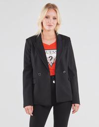 Textil Mulher Casacos/Blazers Guess MICAELA BLAZER Preto