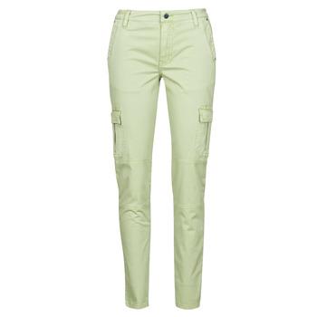 Textil Mulher Calça com bolsos Guess SEXY CARGO PANT Verde