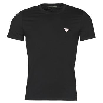 Textil Homem T-Shirt mangas curtas Guess CN SS CORE TEE Preto