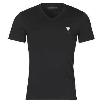 Textil Homem T-Shirt mangas curtas Guess VN SS CORE TEE Preto