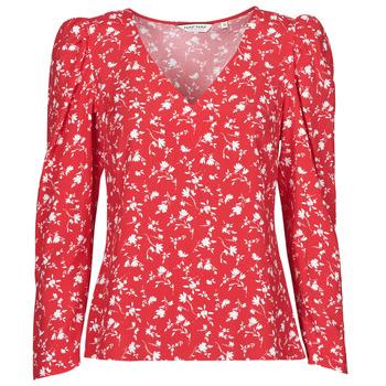 Textil Mulher Tops / Blusas Naf Naf COLINE C1 Vermelho