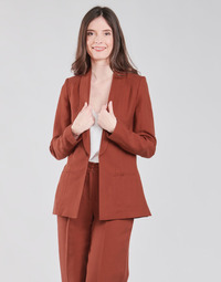 Textil Mulher Casacos/Blazers Naf Naf LINONOU V2 Terracotta