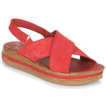 Sapatos Mulher Sandálias Think ZEGA Vermelho