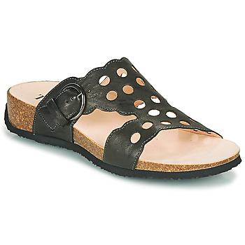 Sapatos Mulher Chinelos Think MIZZI Preto