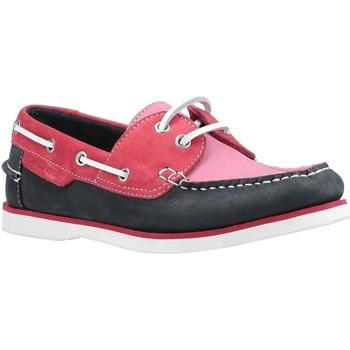 Sapatos Mulher Sapato de vela Hush puppies  Rosa/Navio