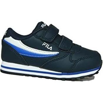 Sapatos Criança Sapatilhas Fila orbit velcro infants Azul