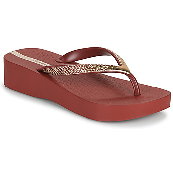 Sapatos Mulher Chinelos Ipanema IPANEMA MESH VI PLAT FEM Bordô