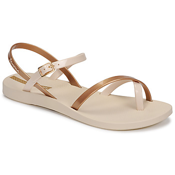 Sapatos Mulher Sandálias Ipanema Ipanema Fashion Sandal VIII Fem Bege / Ouro