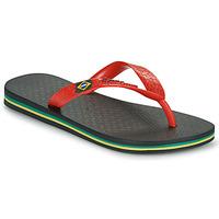Sapatos Criança Chinelos Ipanema IPANEMA CLAS BRASIL II KIDS Preto / Vermelho
