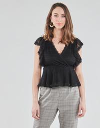 Textil Mulher Tops / Blusas Morgan DARLEY Preto