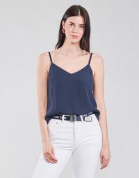 Textil Mulher Tops / Blusas Tommy Jeans TJW CAMI TOP Marinho