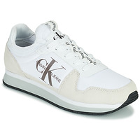 Sapatos Homem Sapatilhas Calvin Klein Jeans RUNNER SOCK LACEUP NY-LTH Branco